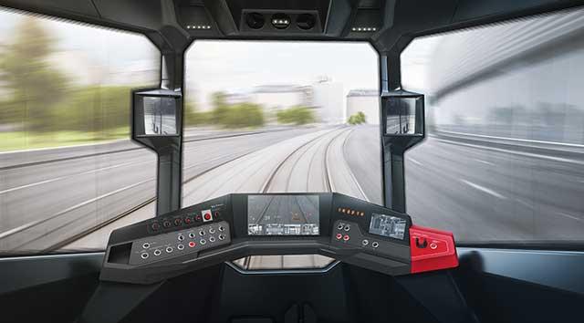 кабина трамвая r1