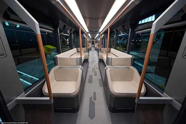салон трамвая r1