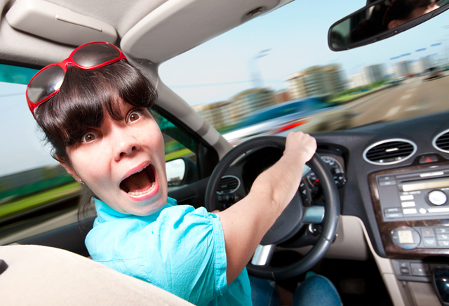 ошибки водителей за рулем