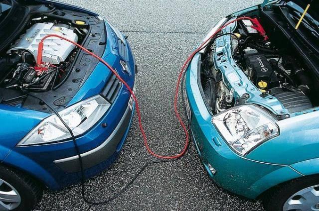 как прикуривать аккумулятор автомобиля