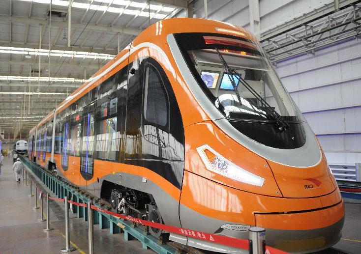 водородный трамвай Китай