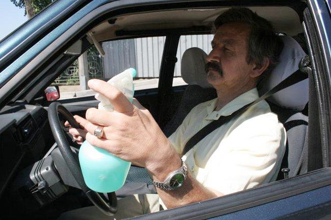 влияние жары на водителя