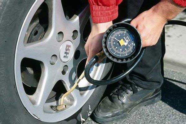 правильное давление в шинах