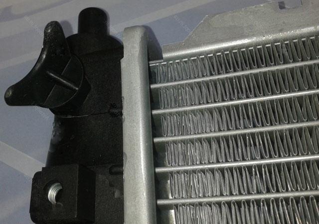 паяный алюминиевый радиатор