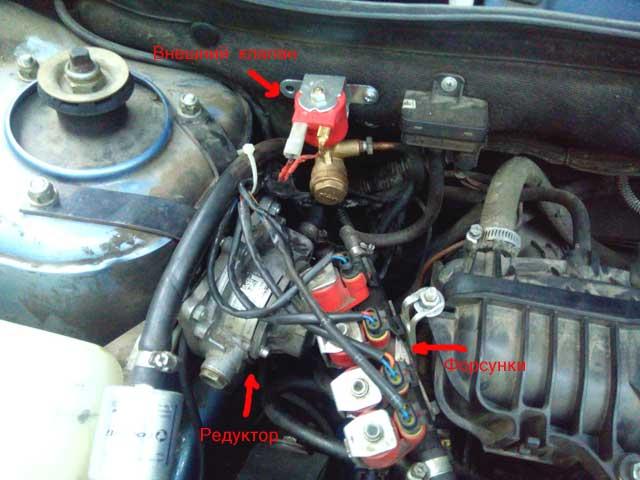 замена газового клапана