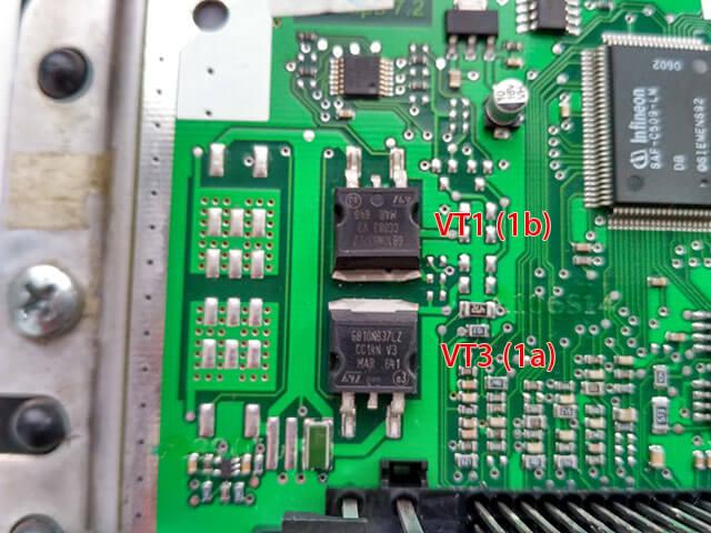 силовые транзисторы эбу калина