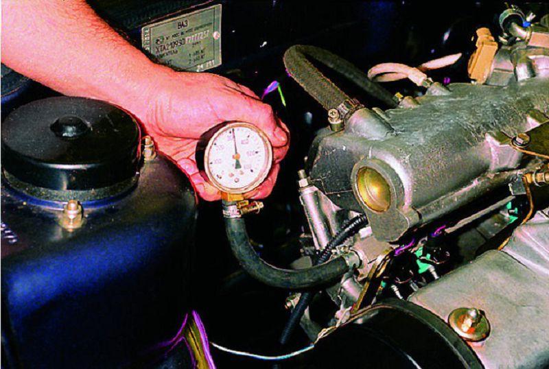 измерение давления топлива