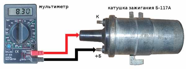 измерение сопротивления катушки зажигания ваз
