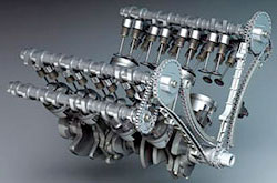 двигатель системы dohc