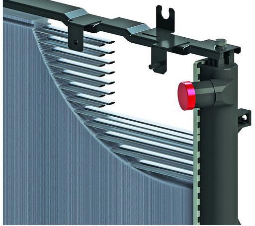 радиатор с овальными трубками
