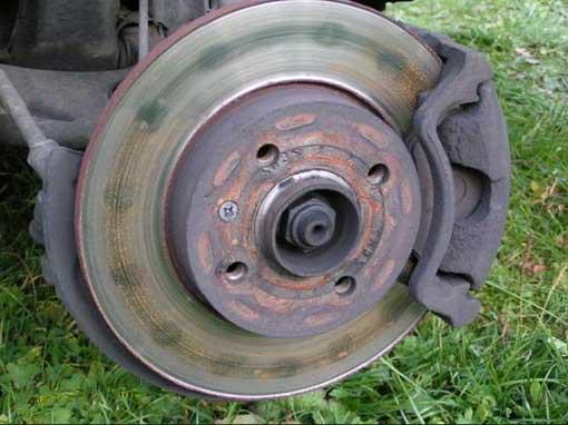 выработка тормозных дисков
