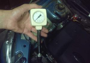 как измерить компрессию двигателя