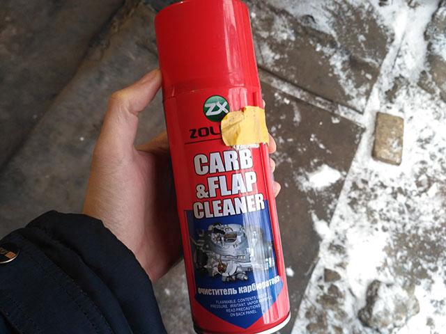 жидкость для чистки карбюраторов