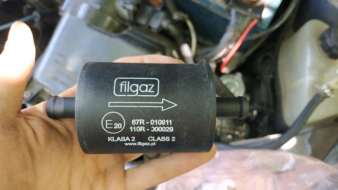 фильтр гбо 4 газообразной фазы газа